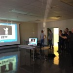 Kinect-controlled interactive lasers