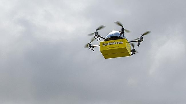 Book delivery in Australia by drone by Zookal