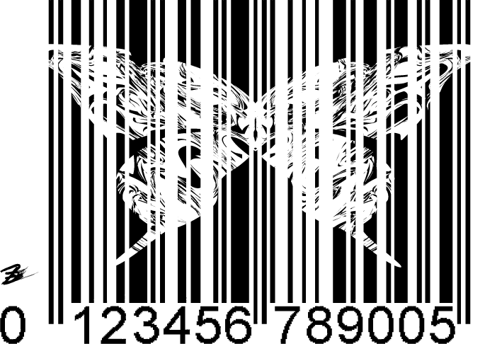 Butterflies and bar codes