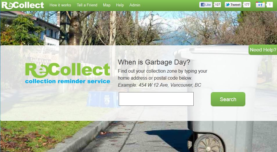 Recollect - Garbage and Recycling Reminders