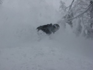 Powder at Red Mountain